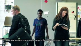 OneMinStory's video production: Aalto Venture Garage and Startup Sauna video