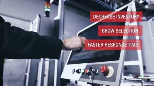 OneMinStoryn videotuotanto: Csi Industries logistiikkarobotit